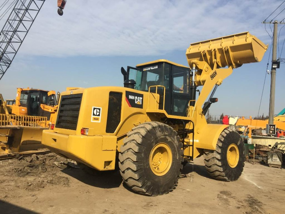 good quality original USA cate 966h used wheel loader for sale