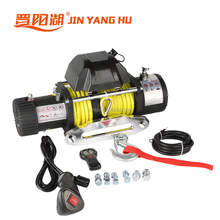 Offroad accessories 4X4 Mini 12V Electric Winch Used, dc electric winch 12000lbs for sale