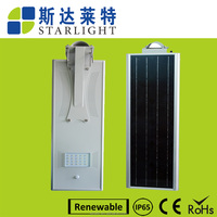quality high brightness good heat dissipation system solar power led street light