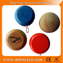Wholesale mini custom laser logo wooden <strong>yoyo</strong>