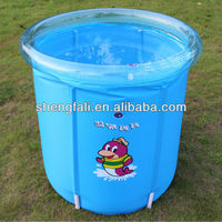 Durable inflatable swim infant pool
