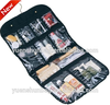 420D+pvc lady Traval folding Cosmetic Toiletry storage travel wash bag