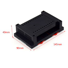 Electric Enclosures Plastic Din Rail PCB Case Box