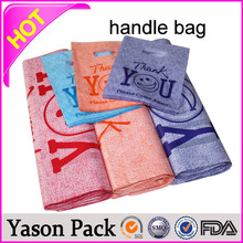 YASON pvc tube handle plastic promotional bagpaperboard carrier with handlechristmas gift patch handle bags