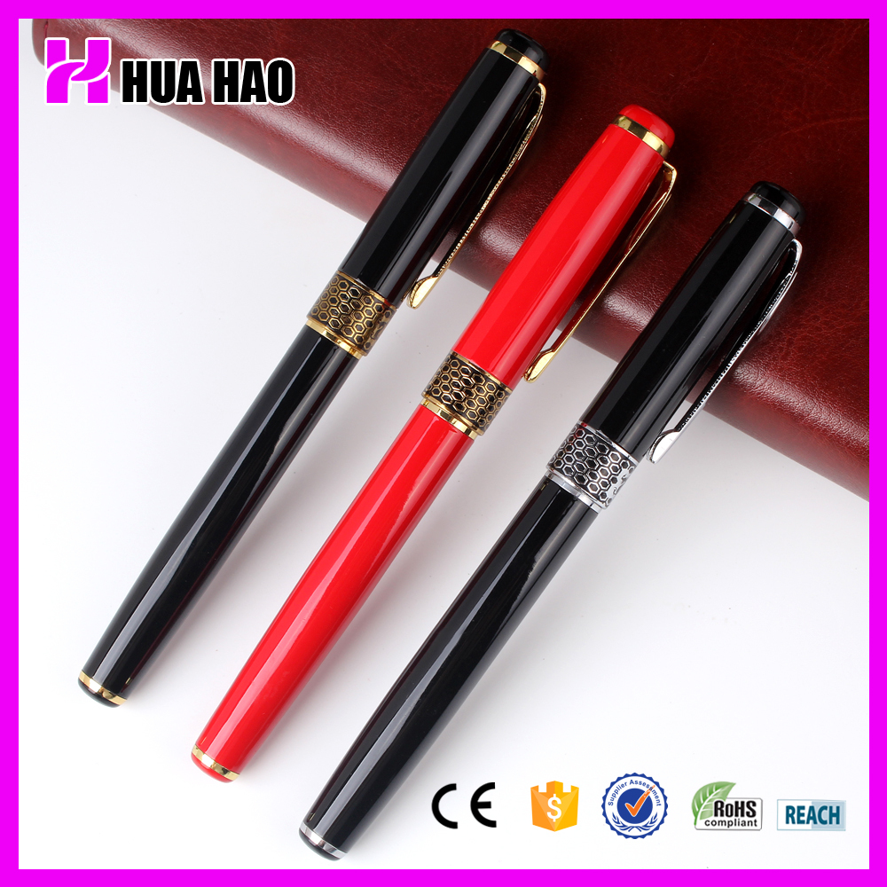 Stationery gift wholesale high quality new design metal roller pen