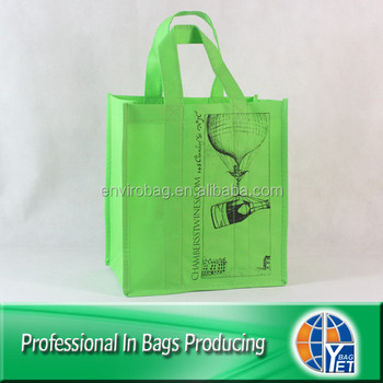 Lead-free Non Woven 6 Pack Reusable Beer Bag