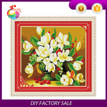 new package DIY Cross Stitch Kit Gardenia
