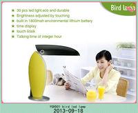 led light night reading lamp,led rechargeable portable desk lamp