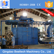 Q48 hanging chain type shot blasting machine, automatic sandblasting machine, iron rust remover