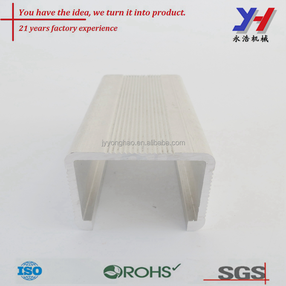 Aluminum extruded concrete wall joint cover