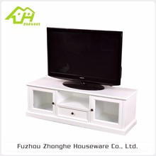 Hot Selling Good Quality MDF Wooden Led Tv Stand Furniture With Showcase