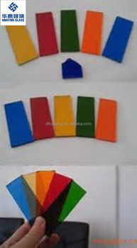 China supplier 6mm tinted/colored glass with CCC / CE / ISO9001
