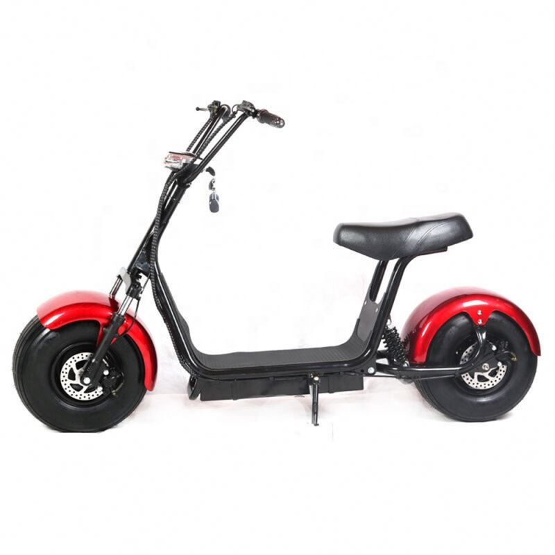New Product Double Seat 2 Wheel Electric Scooter Citycoco 2000 <strong>W</strong>