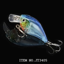 68mm / 8g flying ABS hard plastic fishing lure crankbait with 3Deyes