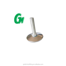Fix steel cover furniture leg glide