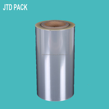 Qingdao JTD Plastic Manufacturer Wholesale Thick Crystal Clear Hard Plastic PET Mylar Material Film On Rolls