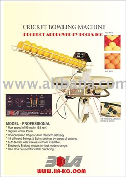 used cricket bowling machine