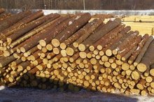 RUSSIAN Timber Log / Sawlogs /Wood round logs / lumber /PINE / SPRUCE / LARCH / BIRCH