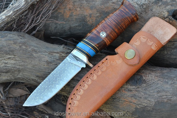 Good damascus steel thai <strong>knife</strong> of karambit combat <strong>knife</strong> for camping