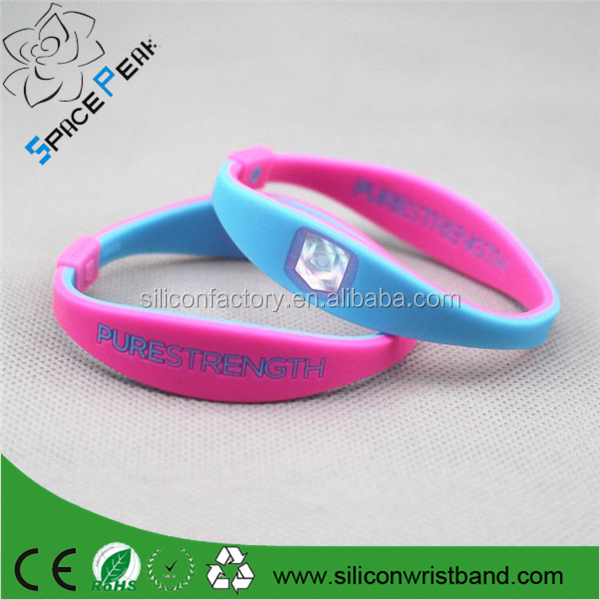 Wholesale - Custom logo Silicone endevr Pure Strength Power Bracelets armband balance bands