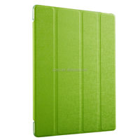 Manufacturer High Quality Simple Color for ipad 4,Transparent Back Cover stand case