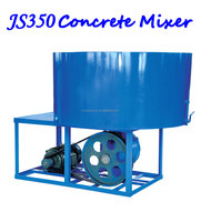 JS 350 Stationary Electric Concrete Pan Mixer