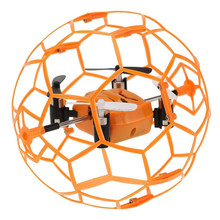 2.4GHz 4 CH 6 axis Wall Climbing RC Quadcopter Drone M70 Mini RC Quadcopter with Football Shaped Protector