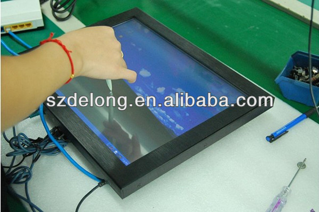 "15"" android portrait outdoor lcd advertising screen display with Advertisng Solution"