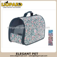 Design stylish foldable dog carrier bag