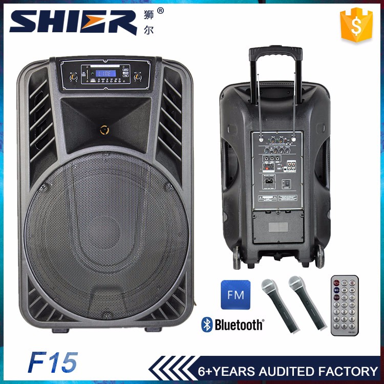 70W active speaker pa plastic cabinet