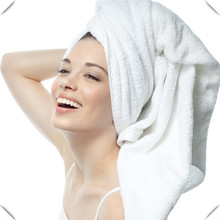 High class durable large size 100% cotton white hotel bath towel