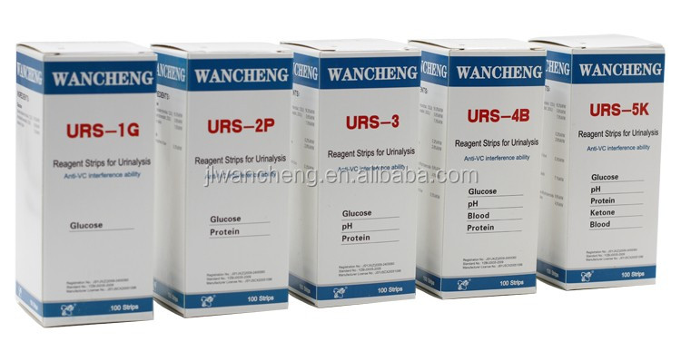 In Vitro Diagnostic Medical Devices /urine test strips 5 parameters URS-5K FDA, CE