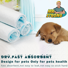 Wholesale soft breathable pet under pad OEM service