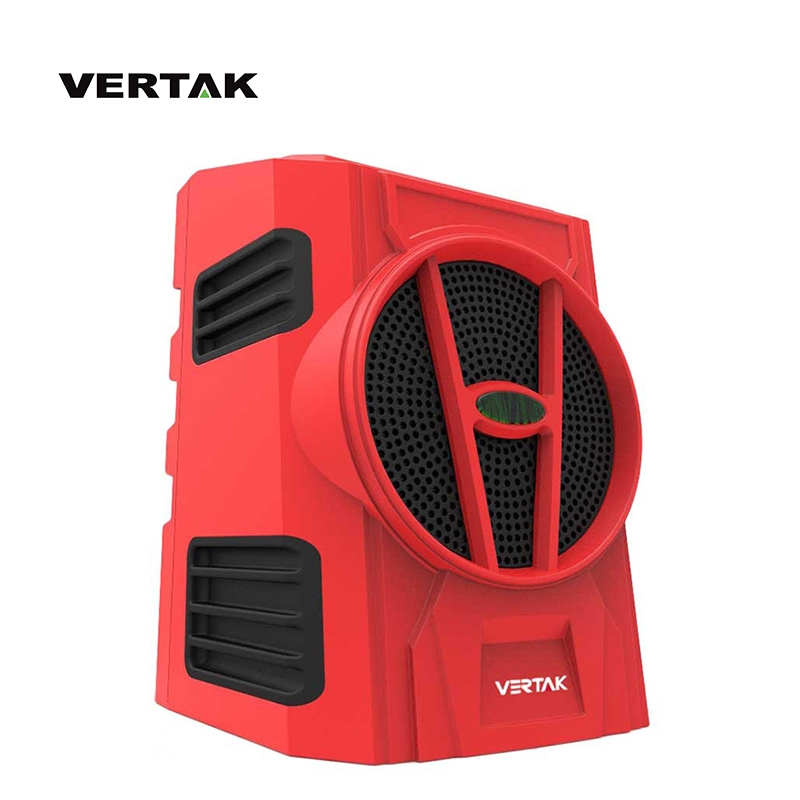 VERTAK portable mini cordless bluetooth jobsite worksite radio with 18v battery