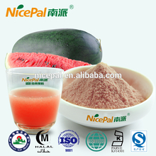 Spray dring watermelon juice powder with fresh fruit aroma