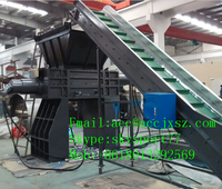 Chinese manufacture plastic film, cardboard, scrap metal, used tire,stone shredder machine