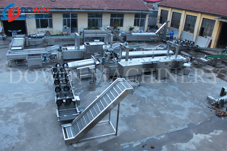 Hot Selling Vegetable and Fruit Dewatering Machine Washing Drying Machine