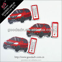 Fashional convenient outdoor car design for Fridge magnet with thermometer