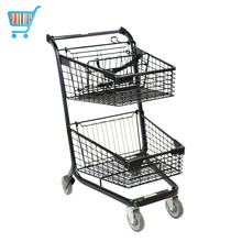 american style shoppe trolley hot sale supermarket shopping troley hand push cart trolley