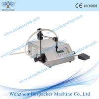 Manual juice drink filling machine