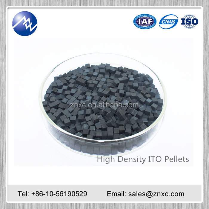 Good quality Indium Tin Oxide target ITO Pieces