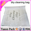 Yasonpack printed dry cleaning bag printed laundry bag poly laundry bag