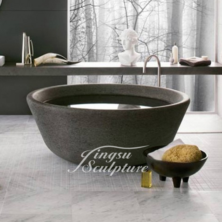 Low Price Home Used Marble Bathtub Round