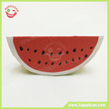 Squishy watermelon Fruit PU foam material slow rising Squeeze toy