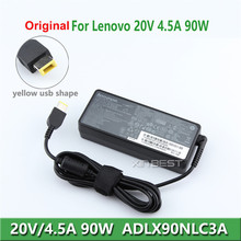 Original AC DC adapter 90W 20V 4.5A external laptop battery charger for lenovo yoga 2