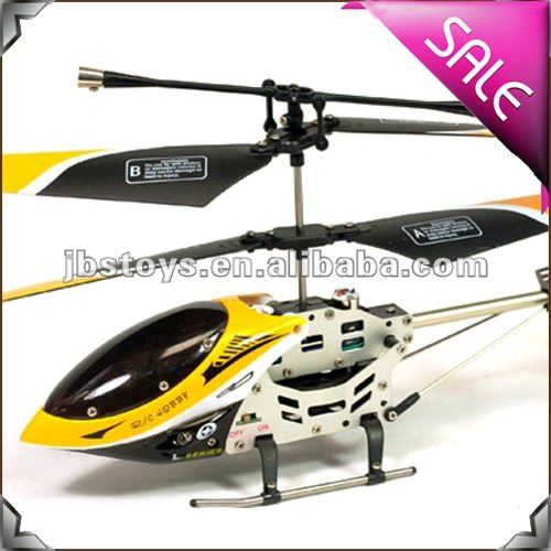 Alloy Structure 3 Channel Remote Control Gyro Rc Heli