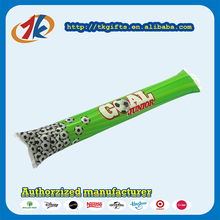 Plastic Inflatable Noise Maker Custom Cheering Sticks