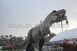 2016 new product hot sale lifesize animatronic/artificial dinosaur for sale