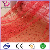 China factory 2014 babysbreath jacquard mesh fabric textile