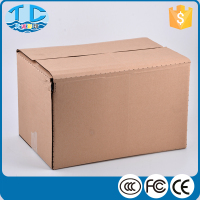 2016 Corrugated wholesale custom cardboard packing kraft box shipping